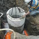 台北市天母污水管線工程